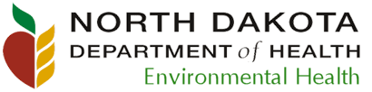 NDDOH environmental health logo