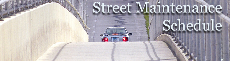 Street Maintenance Page Topper