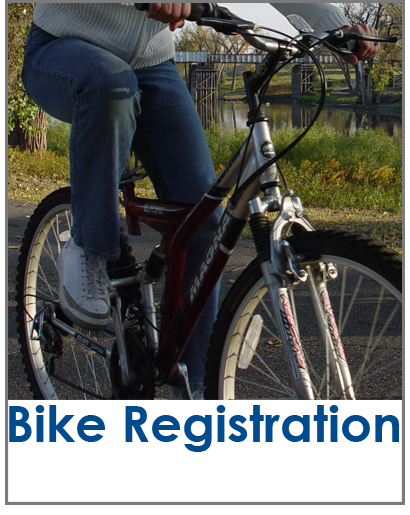 Bike Registration Button