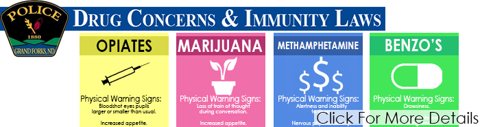 Drug Concerns & Immunity Laws Banner