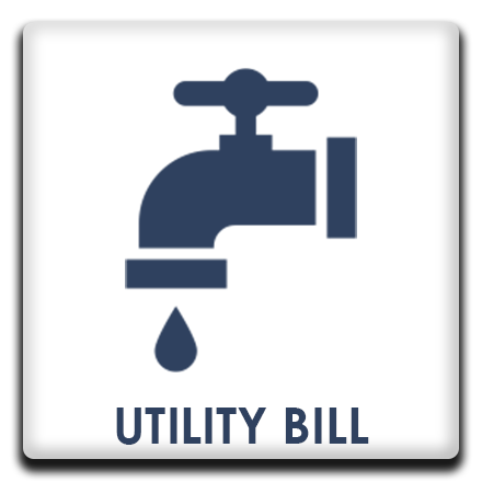Utility Bill Budget Page Buttons