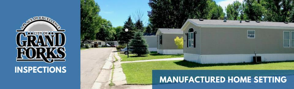 Manufactured Home Setting