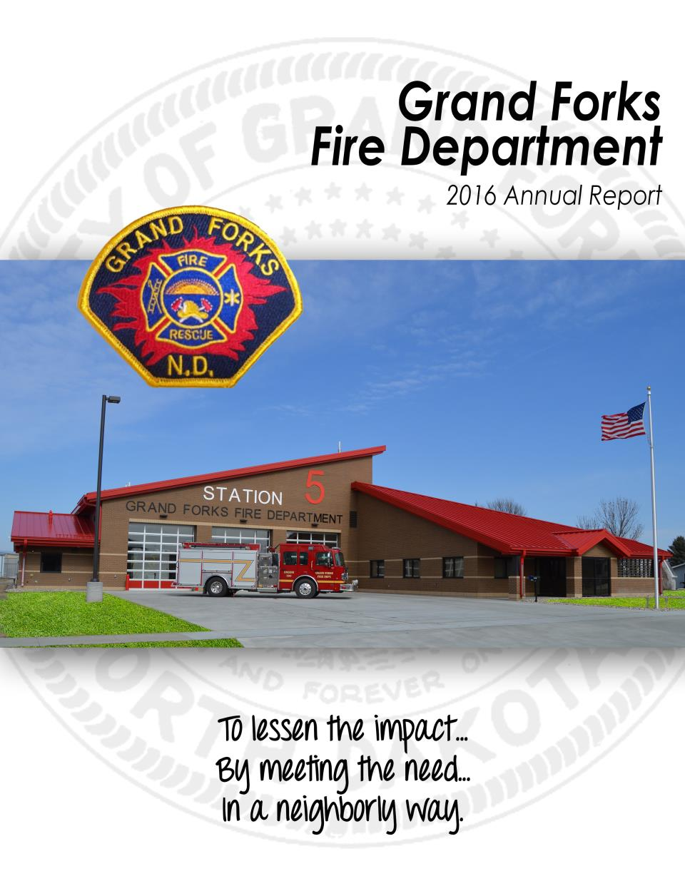 GFFD Annual Report Cover 2016