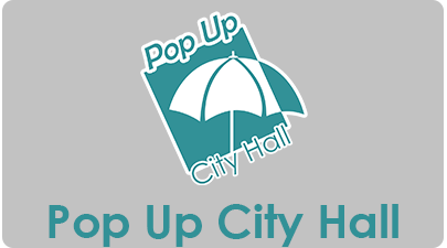 Pop Up City Hall Button