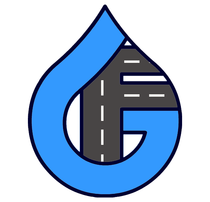 Water and Roads Sales Tax Logo