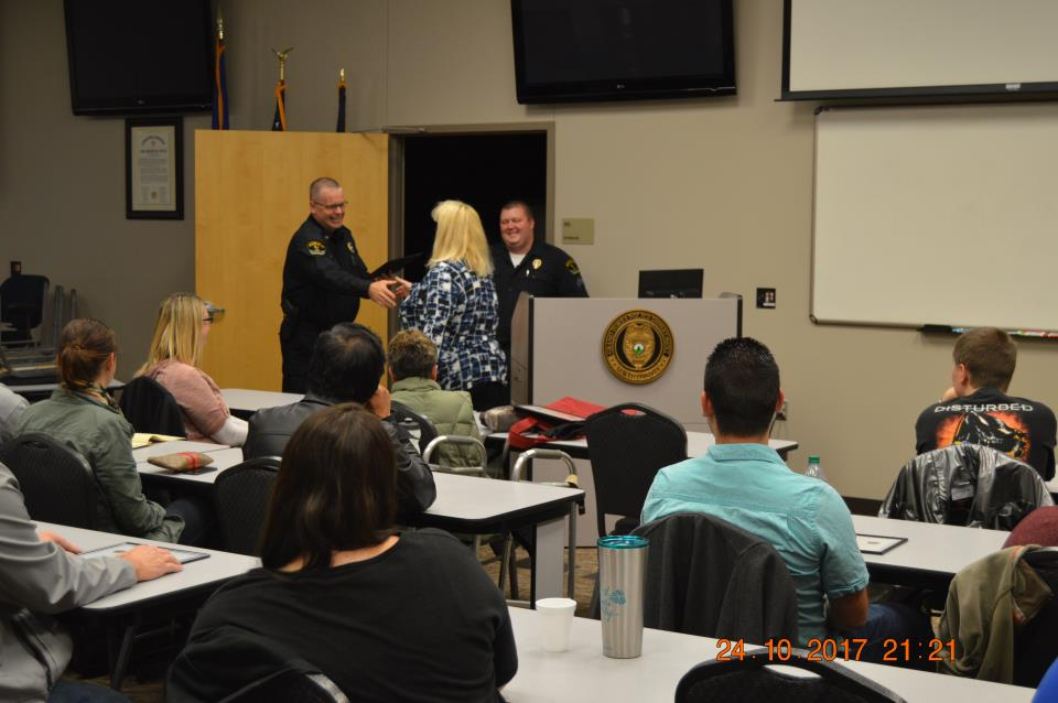 Citizens Academy Picture - classroom 2