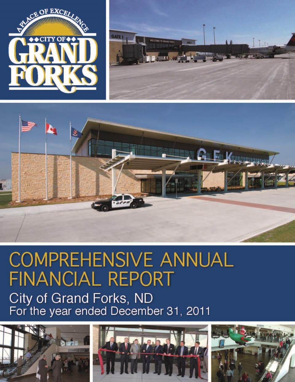 2011 CAFR Cover