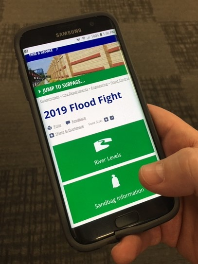 Flood Fight Website