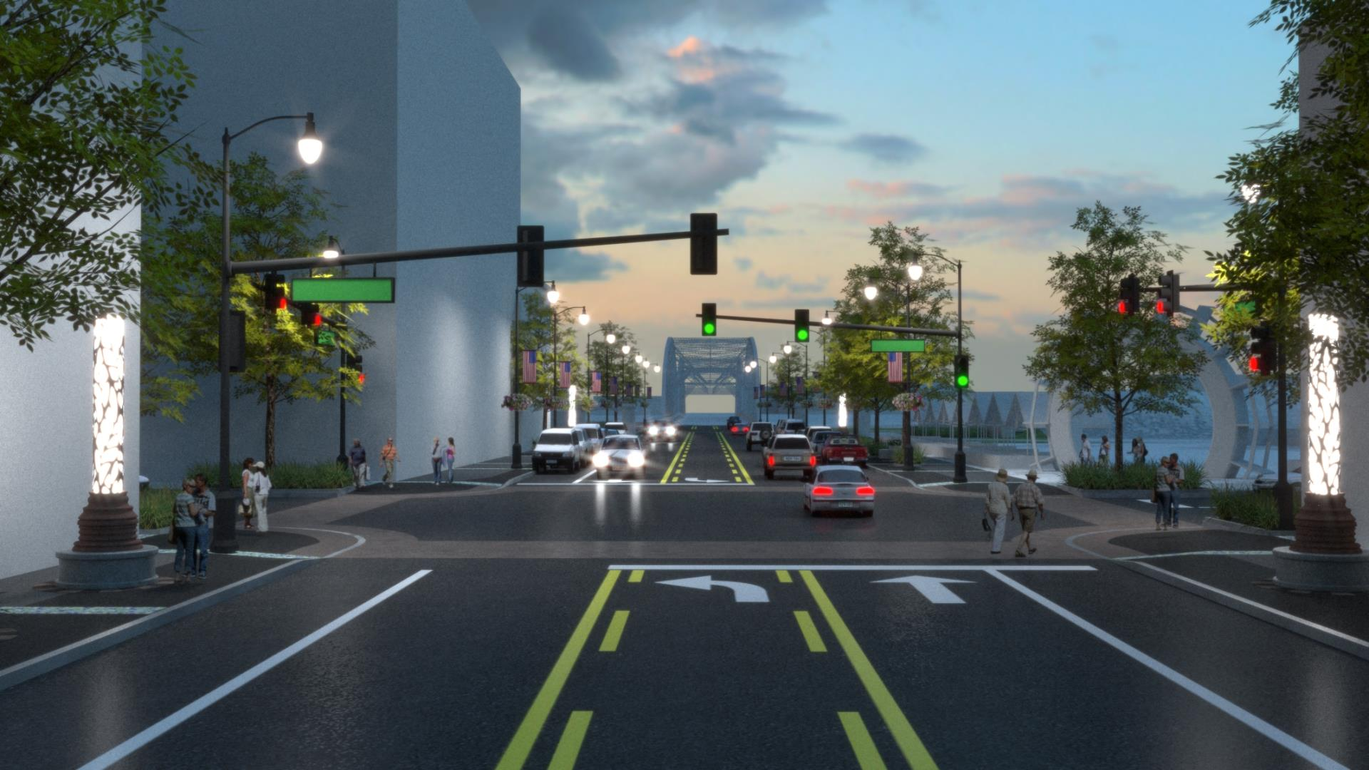Demers Ave. Rendering